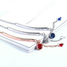Classic OL Style Rose Gold Bracelets for Women